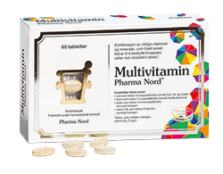 Multivitamin Pharma Nord 60 stk.