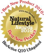 Best New Product 2010 - Natural Lifestyle Magazine Awards