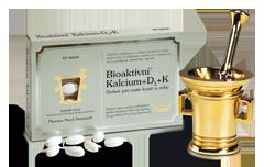 Bioaktivní Kalcium+D3+K