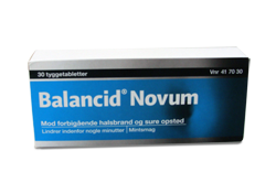 Balancid Novum 30 stk.