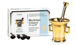 BioActive Uniqinol 50mg 30 stk.