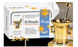 D-Pearls Stærk 38 µg