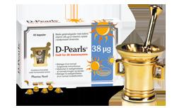 Bio-Vitamin D3 (D-Pearls) 38 µg